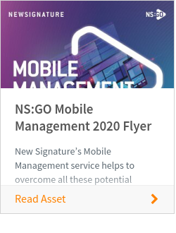 NS:GO Mobile Management 2020 Flyer