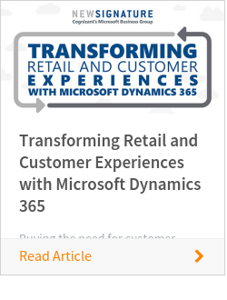Transforming Retail and Customer Experiences with Microsoft Dynamics 365