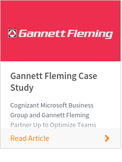 Gannett Fleming Case Study