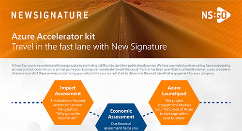 NS: GO - Azure Accelerator Kit Flyer
