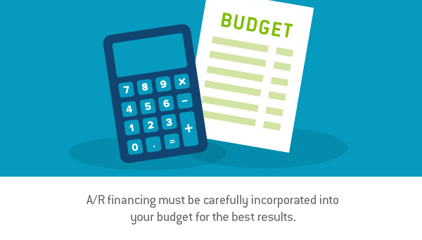How to fit A/R financing into your budget