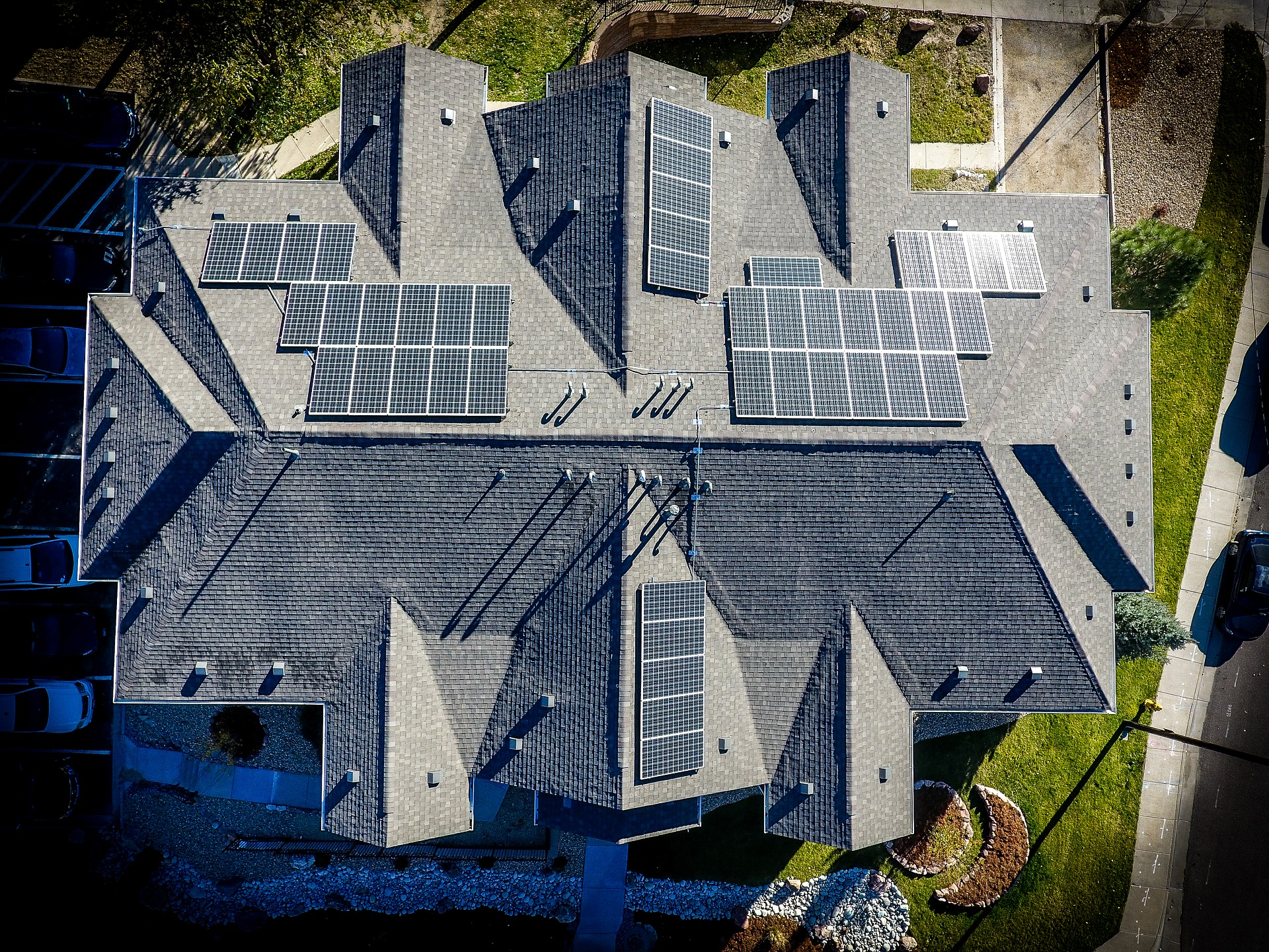 Image of solar panels on the roof of a home | TAB Bank