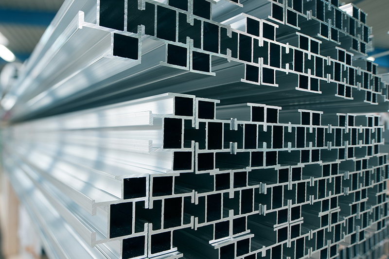 Image of a stack of aluminum extrusions   TAB Bank