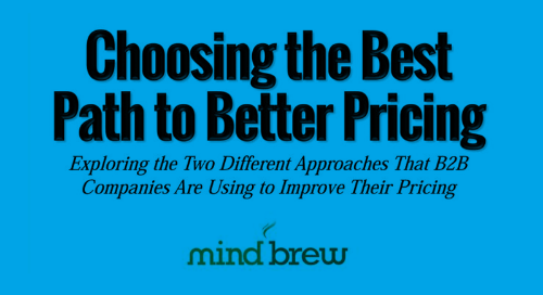 Choosing the Best Path to Better Pricing