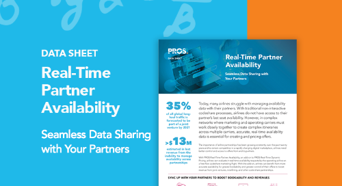 Real-Time Partner Availability Data Sheet