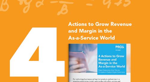 Grow Revenue and Margin in the As-a-Service World