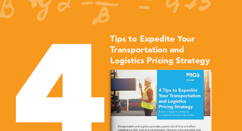 4 Tips to Expedite Your Transportation and Logistics Pricing Strategy