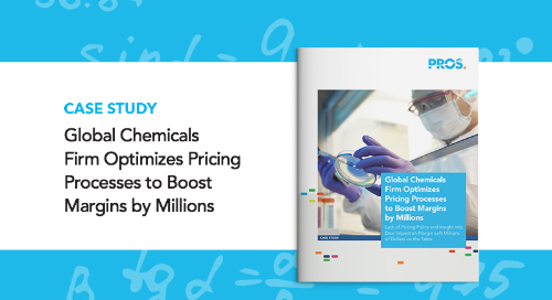 Global Chemicals Firm Optimizes Pricing Processes to Boost Margins by Millions
