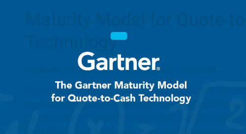 Maturity Model for Quote-to-Cash Technology