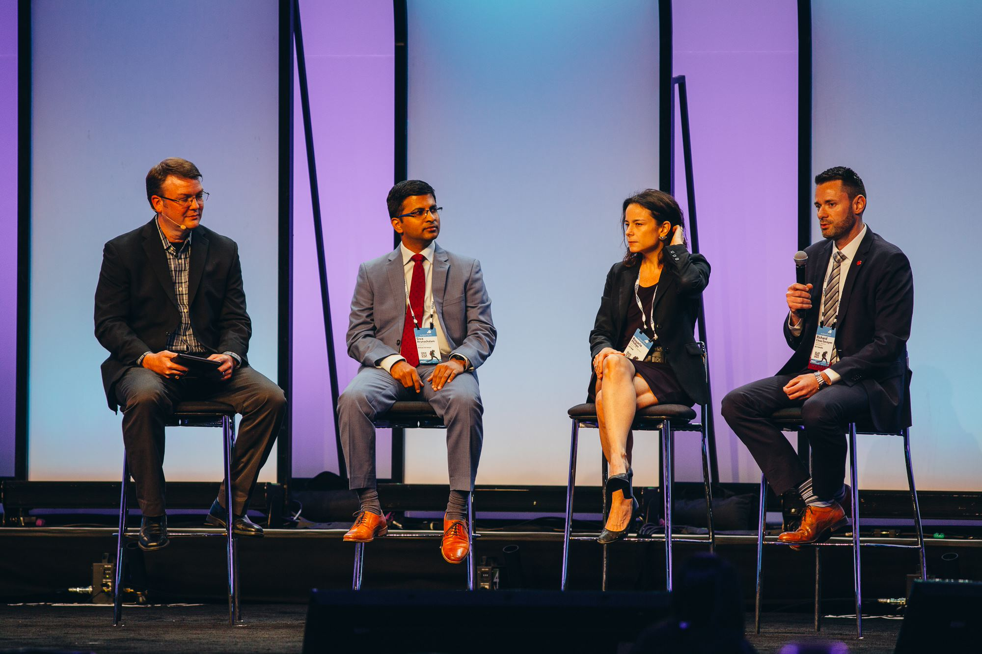 Customer panel at the PROS Outperform 2019 conference