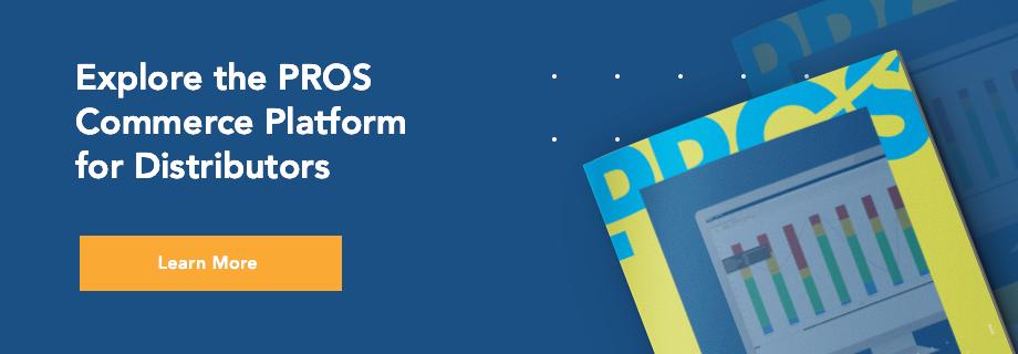 PROS Commerce Platform for Distributors CTA