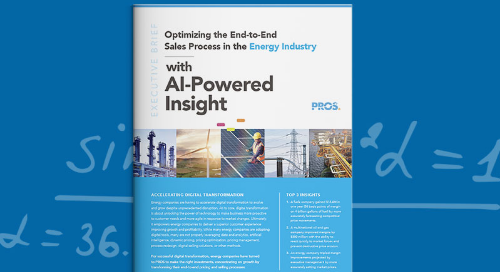 Optimizing Pricing and Selling in the Energy Industry