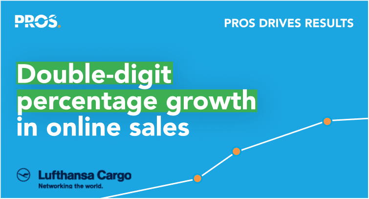 Online sales percentage growth for Lufthansa Cargo callout