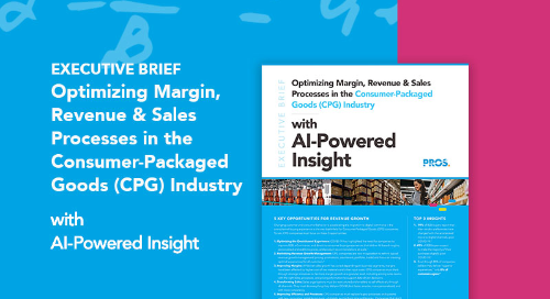 Optimizing Margin, Revenue & Sales Processes in the CPG Industry