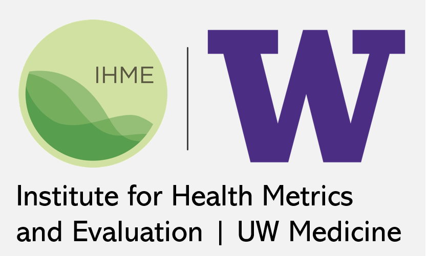 Institute for Health  Metrics and Evaluation (IHME) logo