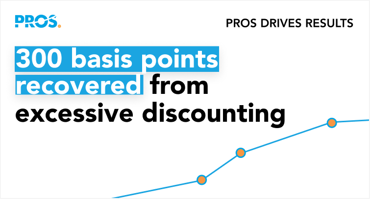 300 basis points recovered from excessive discounting