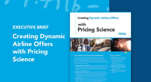 Creating Dynamic Airline Offers with Pricing Science
