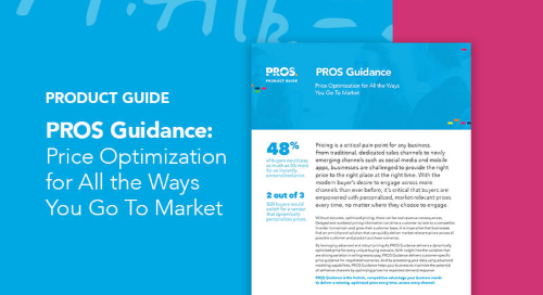 PROS Guidance Product Guide