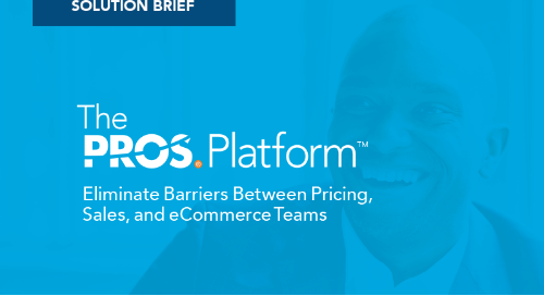 Transformative Selling Experiences with the PROS Platform