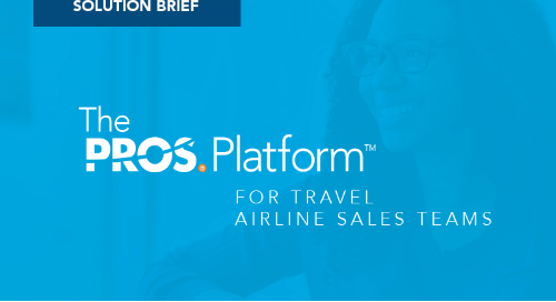 Accelerating Group and Corporate Sales with the PROS Platform