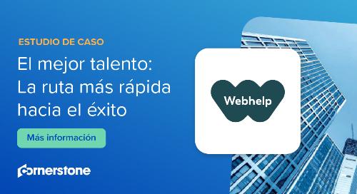 Webhelp se basa en Cornerstone TalentLink para implementar una solución de selección de personal completa