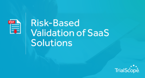 Risk-Based Validation of SaaS Solutions