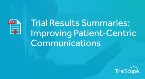 Trial Resullts Summaries - Improving Patient Communications