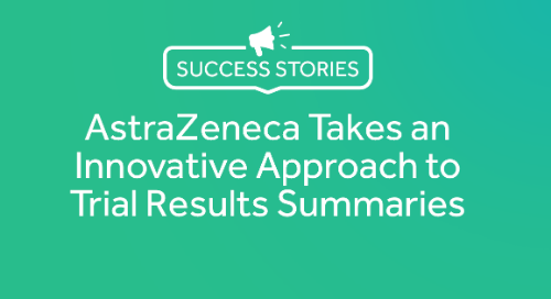 AstraZeneca Takes an Innovative Approach to Trial Results Summaries