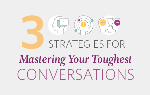 3 Strategies For Managing Your Toughest Conversations