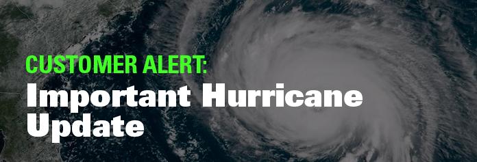 Important Hurricane Update