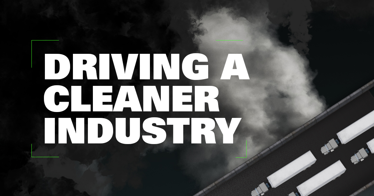 Driving a cleaner industry