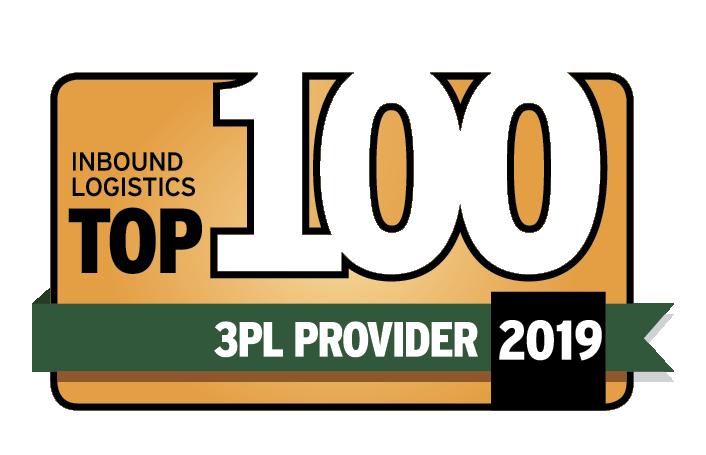 Inbound Logistics Top 100 3PL Providers 2019 logo
