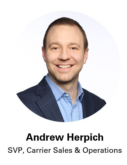 Andrew Herpich, SVP Carrier Sales at Coyote Logistics