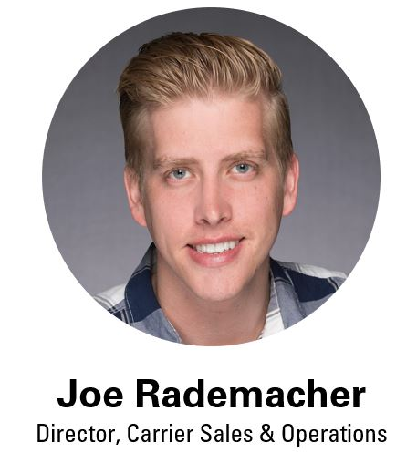 Joe Rademacher, Director Carrier Sales & Operations, Coyote Logistics