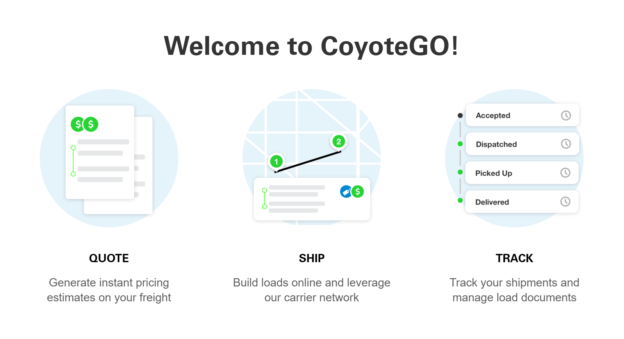 Welcome to CoyoteGO