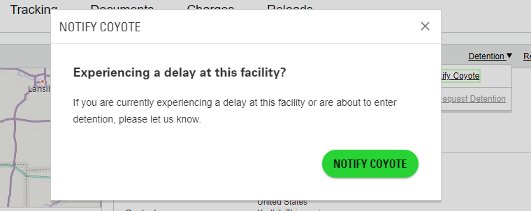 Experiencing a delay pop up