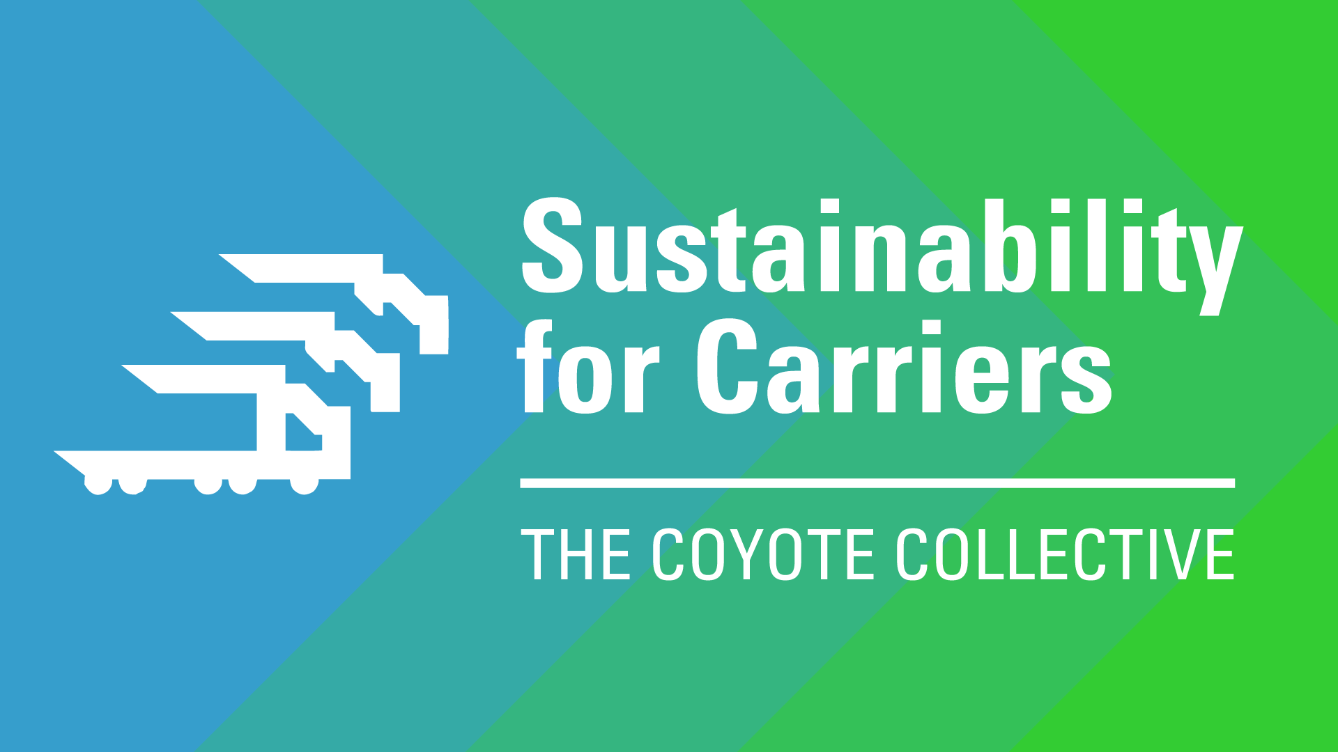 Sustainability for Carriers header graphic