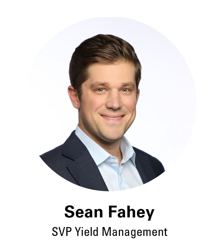 Sean Fahey, Coyote SVP Yield Management