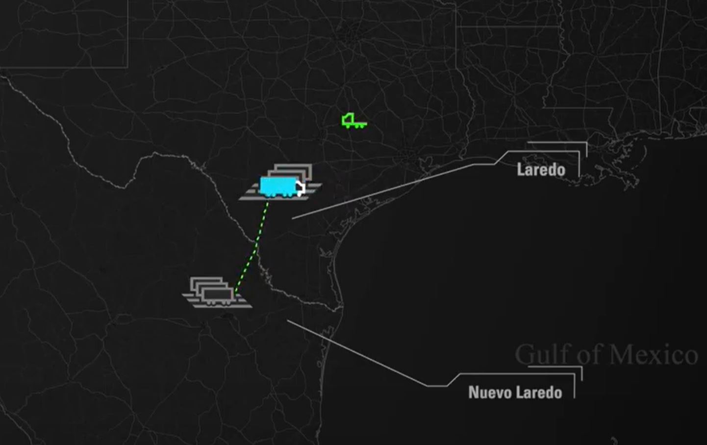 Through-trailer cross-border Mexico shipping