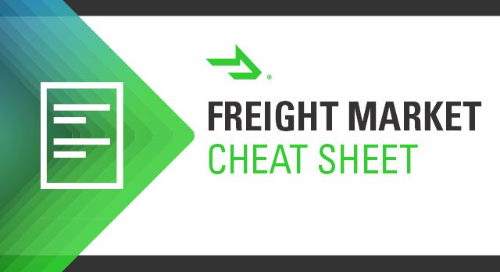 Freight Market Cheat Sheet: 6 Shipping Trends for April 2021