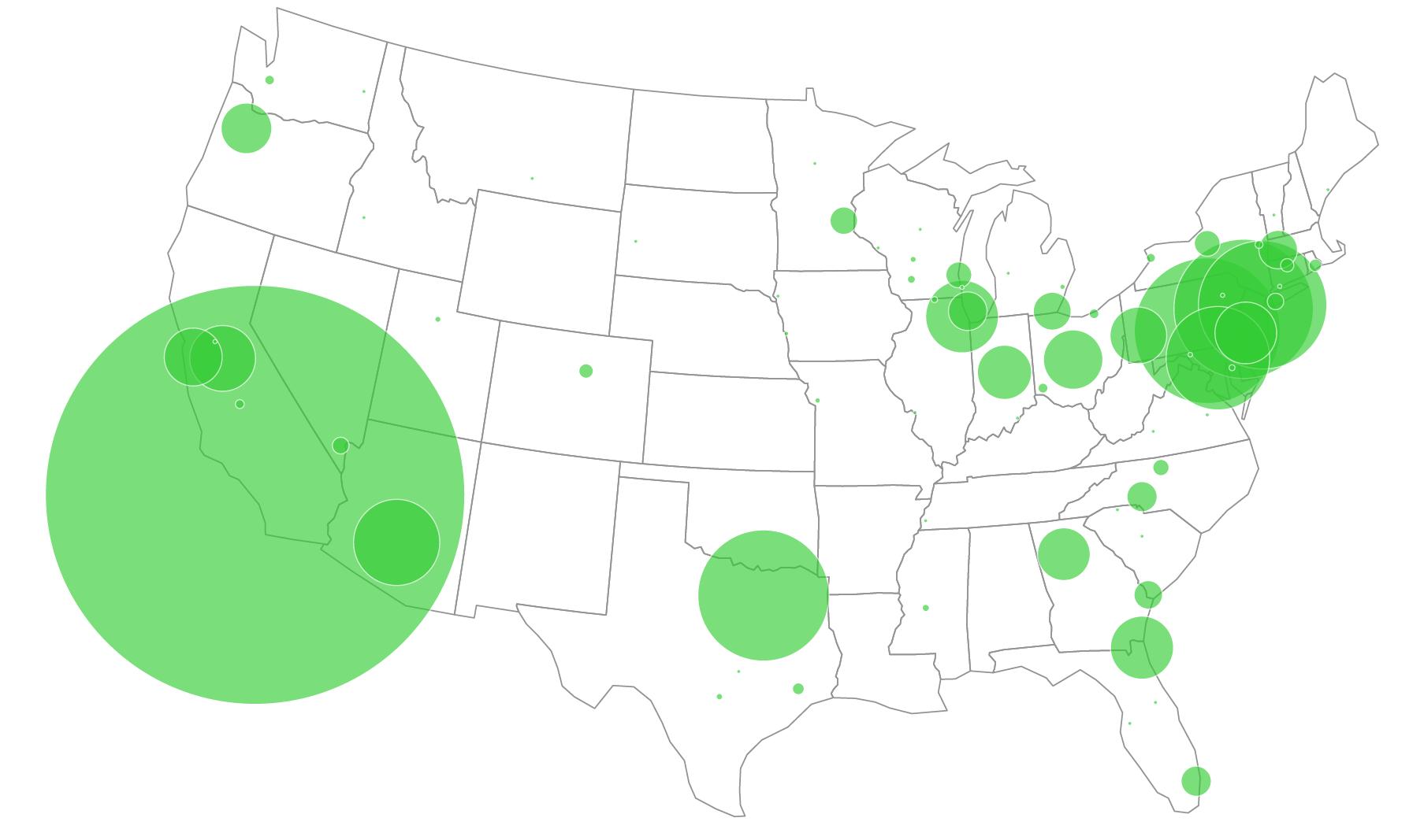 UPS Peak Season Local Freight Density in 2020