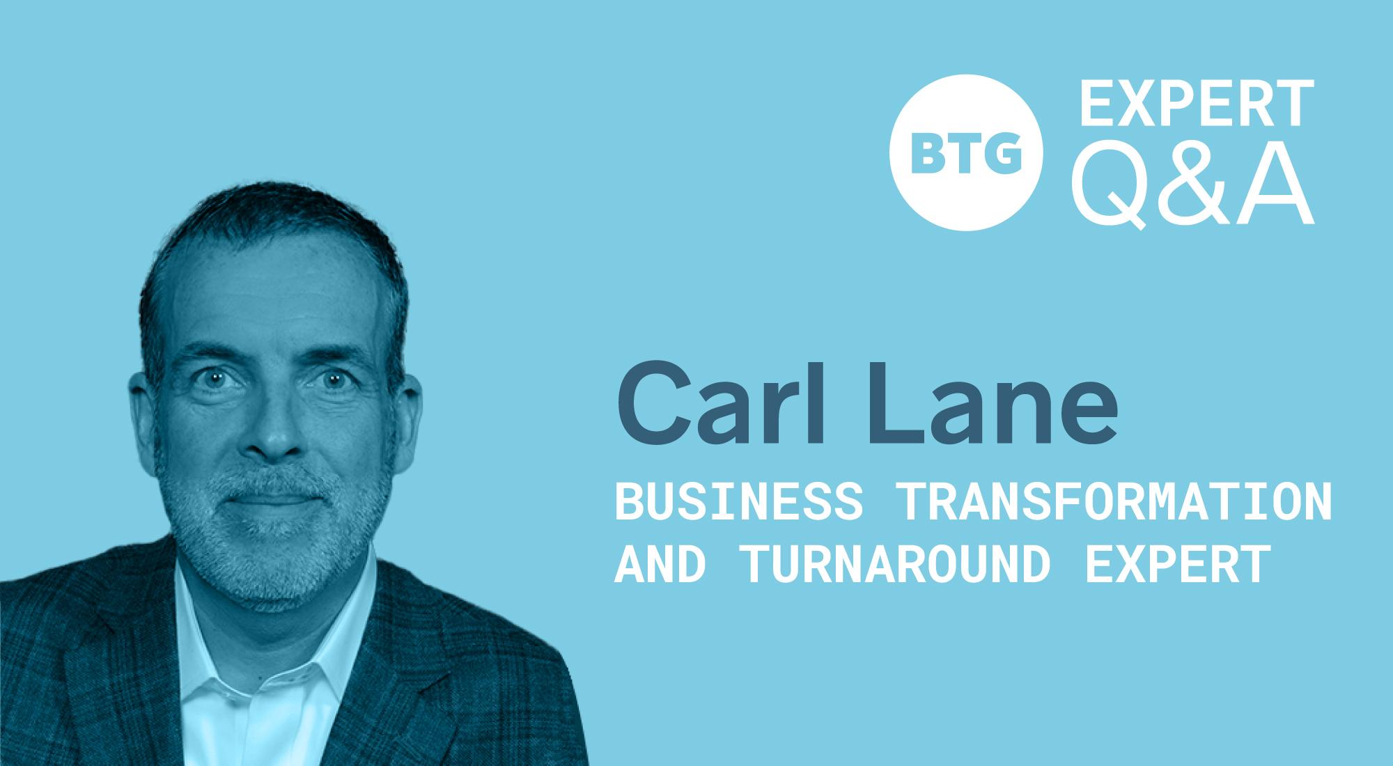 turnaround management - Carl Lane