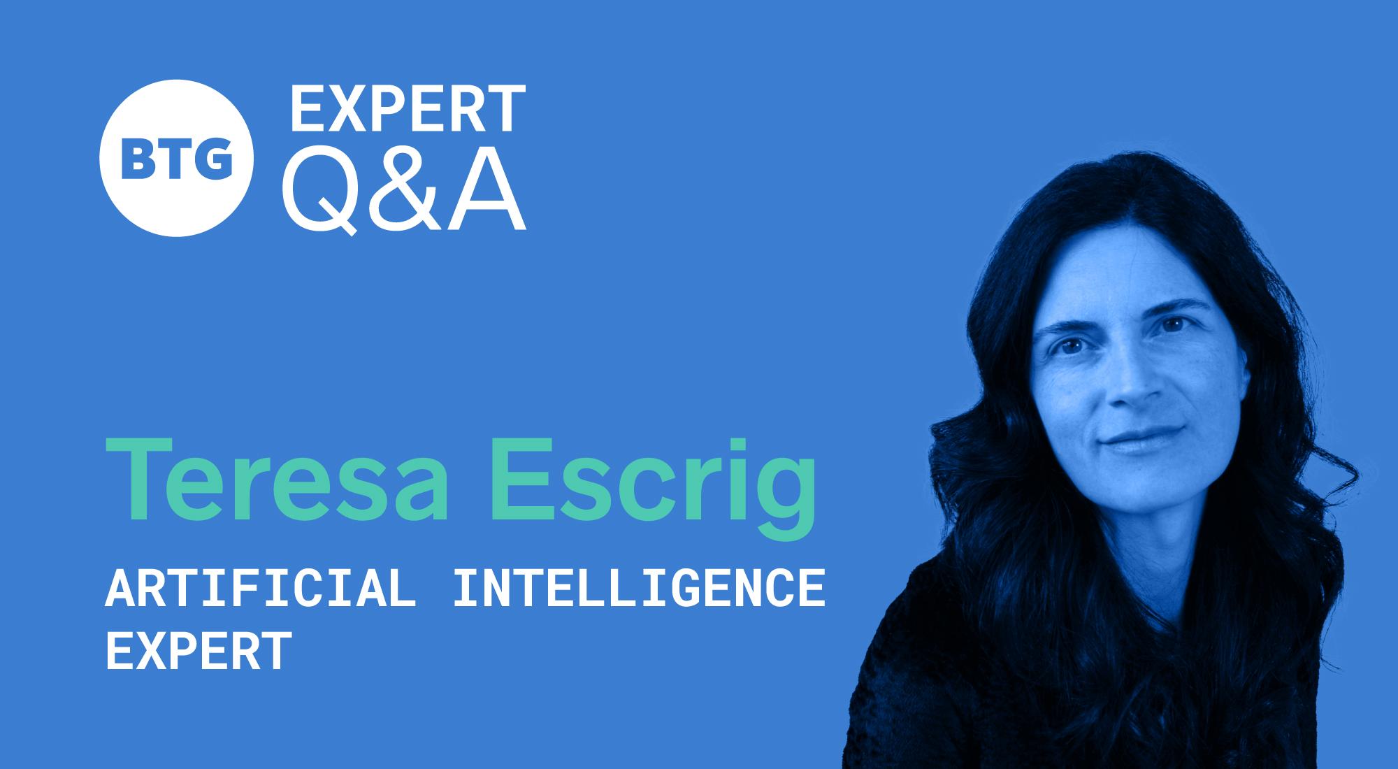 implementing AI - Teresa Escrig
