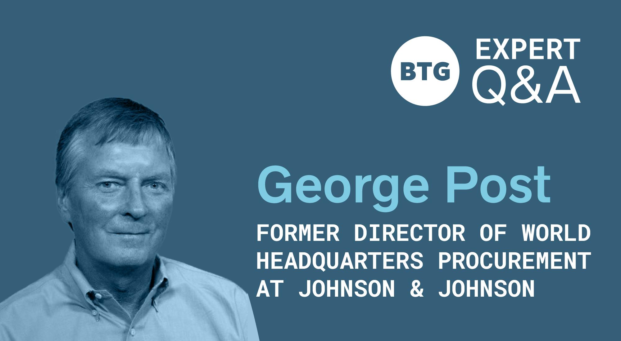 on-demand talent program - George Post