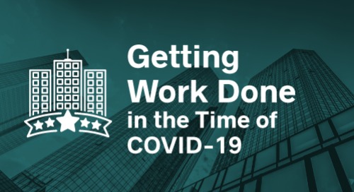 Getting Work Done in the Time of COVID-19