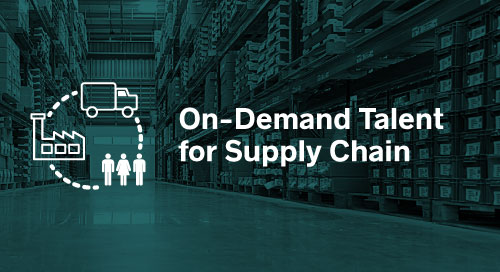 On-Demand Talent for Supply Chain