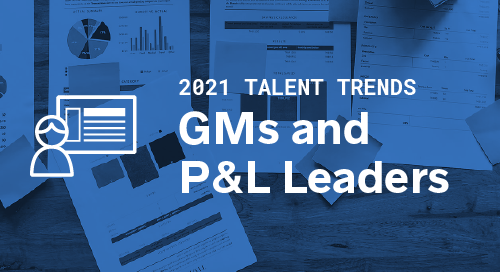 Trends by Function: General Managers and P&L Leaders