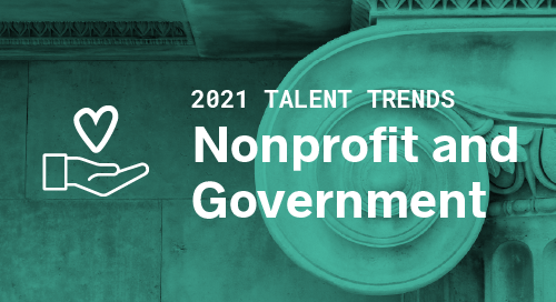 Trends by Industry: Nonprofit and Government