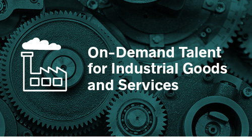 On-Demand Talent for Industrial Goods