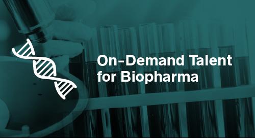 On-Demand Talent for Biopharma